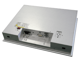 ITAS: Fanless panelmount industrial Monitor, IPO Technologie solutions ITAS-17F
