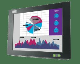 ITAS: Fanless panelmount industrial Monitor, IPO Technologie solutions ITAS-19F