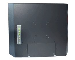 ELIOS 4:3 Metal-cased industrial fanless monitor, IPO Technologie solutions ELIOS-15SF