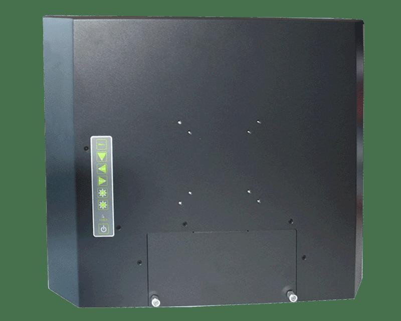 ELIOS 4:3 Metal-cased industrial fanless monitor, IPO Technologie solutions : ELIOS-15SF