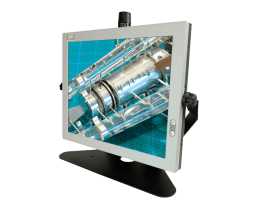VITUS 4:3 Industrial Panel PC in metal cased, VITUS Industrial Touch Panel PC All-in-One,IPO Technologie solutions VITUS-17SQA