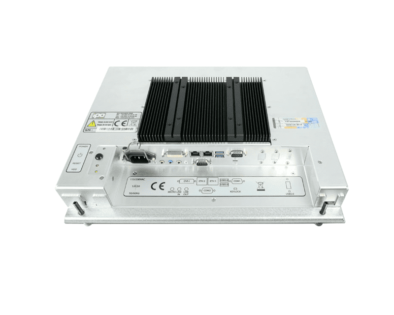 THETIS 4:3 Rugged Panelmount Rackmount Panel PC, THETIS Industrial Panelmount Rackmount Panel PC,IPO Technologie solutions : THETIS-17QA
