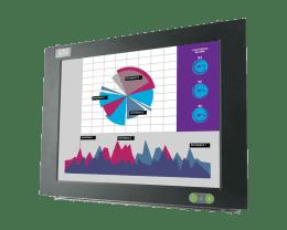 ITAS: Fanless panelmount industrial Monitor, IPO Technologie solutions ITAS-15F