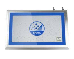 Full IP69 stainless steel panel PC