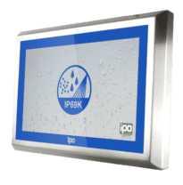 Full IP69 Stainless steel monitor